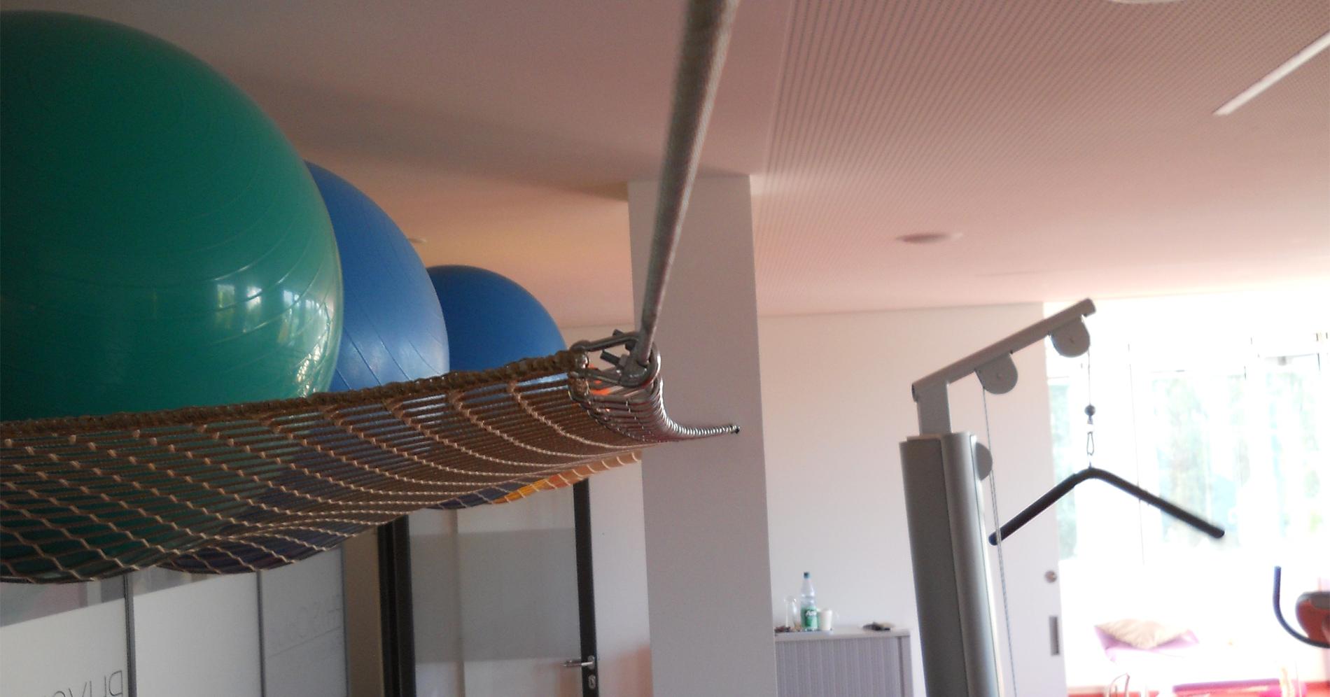 Sicherungsnetze Indoor